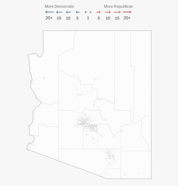 Florida Map Counties.Arizona Election Results 2018 The Washington Post