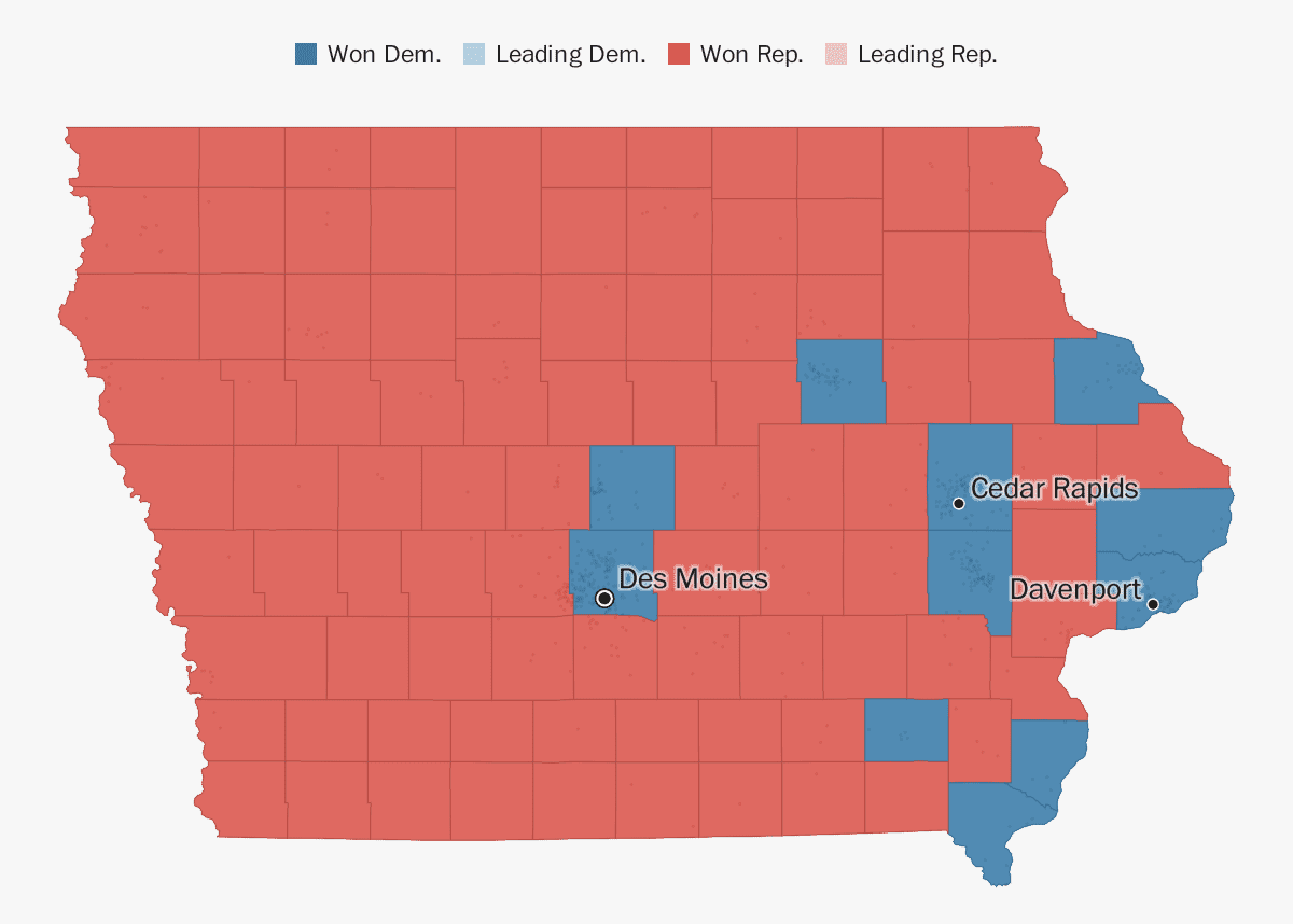Iowa election results 2018 - The Washington Post