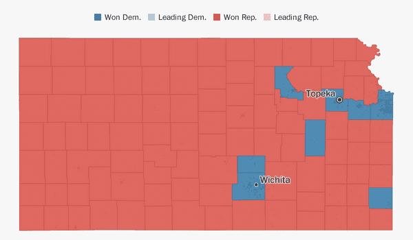 Kansas election results 2018 - The Washington Post