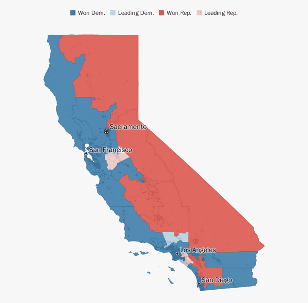 California election results 2018 - The Washington Post
