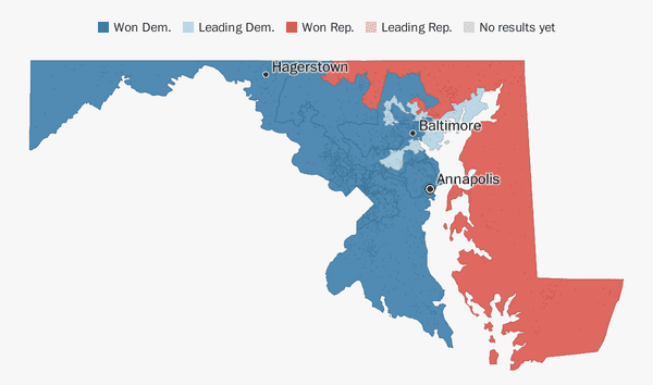 Maryland election results 2018 - The Washington Post