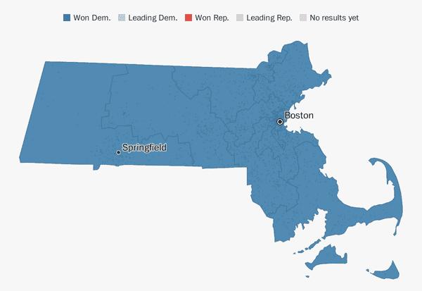 Massachusetts election results 2018 - The Washington Post