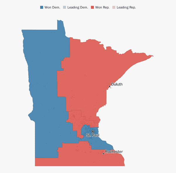 Minnesota Election Results 2018 The Washington Post