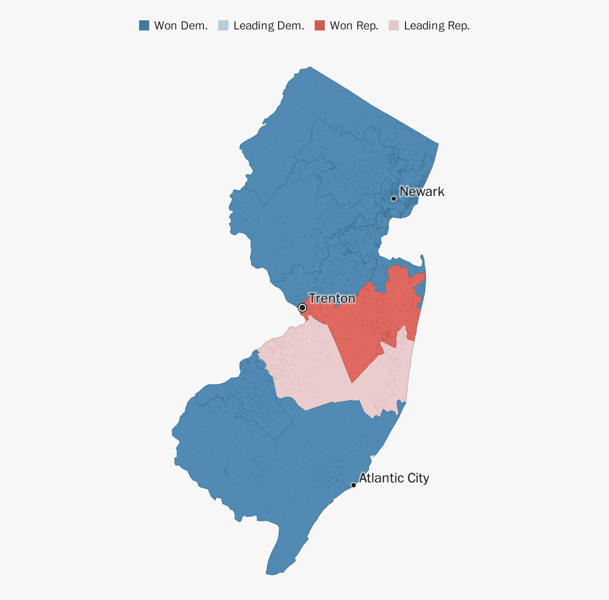 New Jersey election results 2018 - The Washington Post on google maps louisiana political, democrat vs republican states map, google poll,