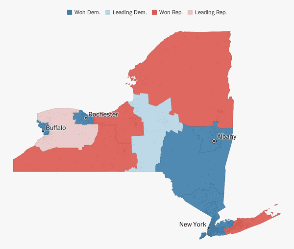 New York election results 2018 - The Washington Post