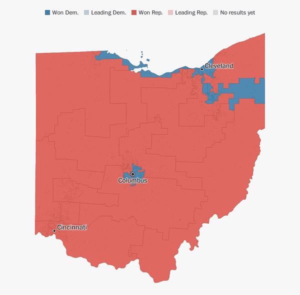 Ohio election results 2018 - The Washington Post