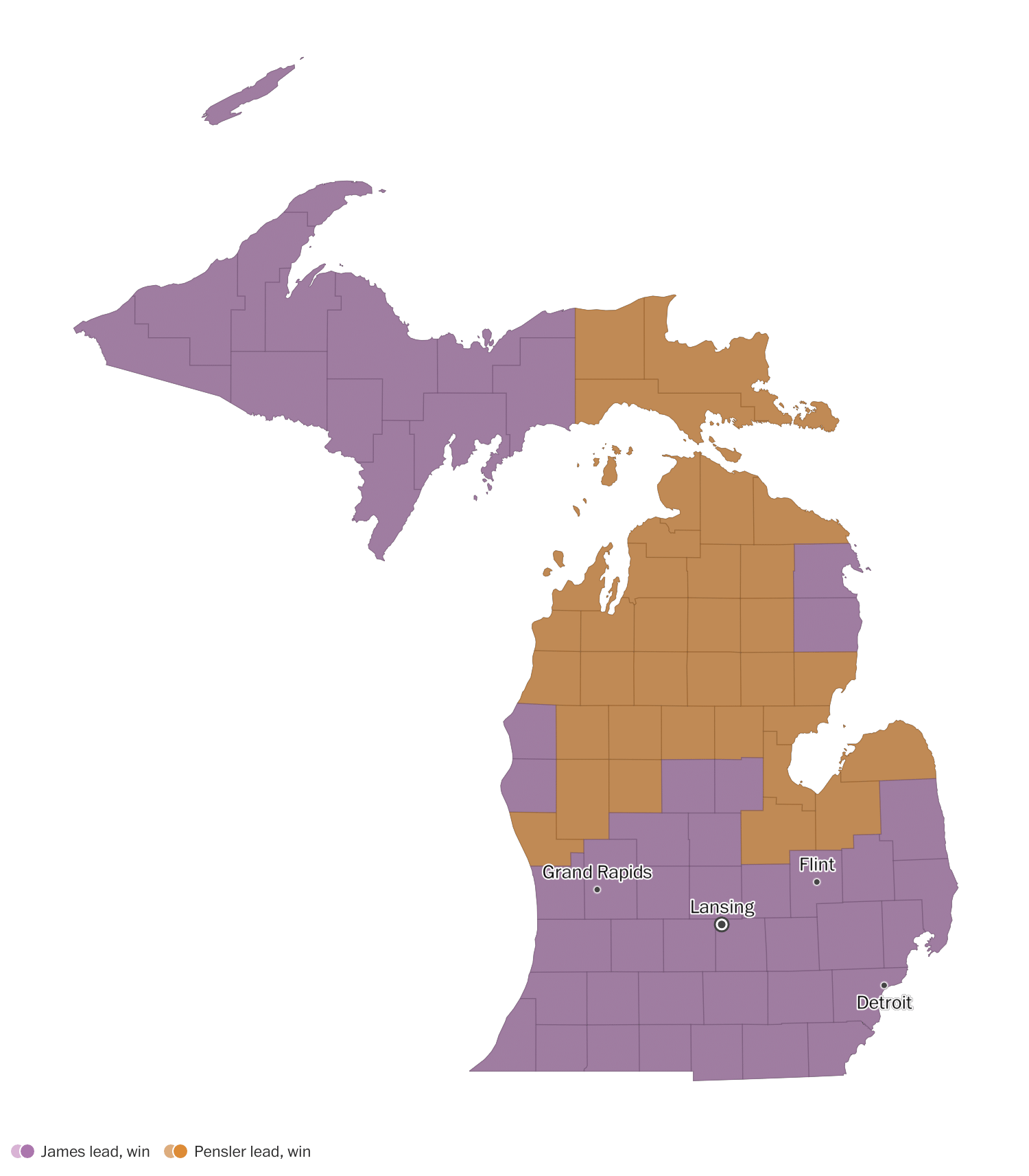 Michigan primary election results 2018: Governor, Senate and House ...