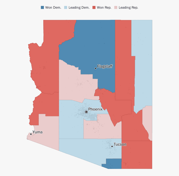 Arizona election results 2018 - The Washington Post