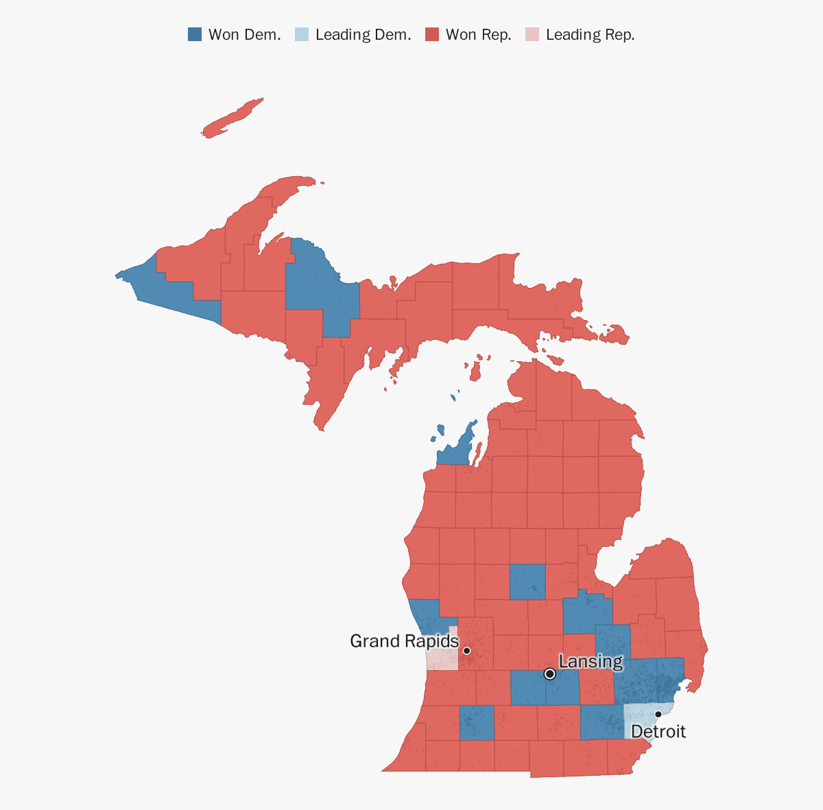 Michigan election results 2018 - The Washington Post