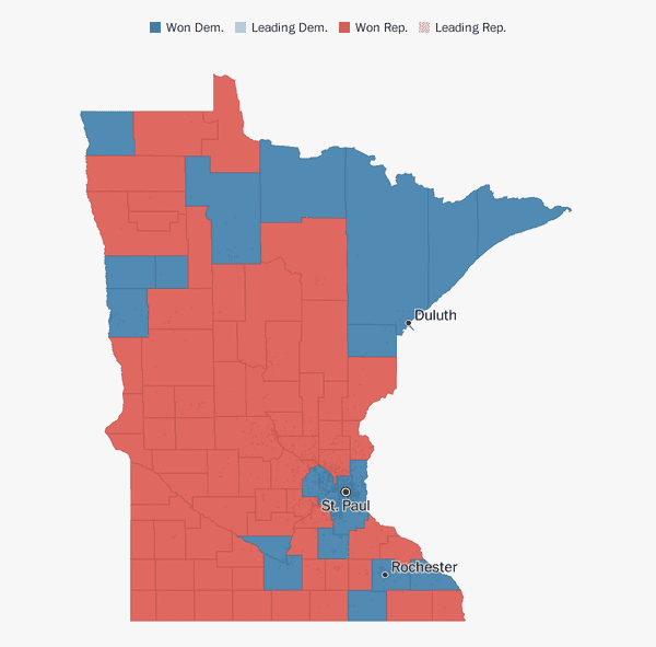 Minnesota election results 2018 - The Washington Post