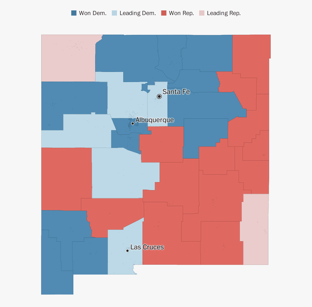 New Mexico election results 2018 - The Washington Post