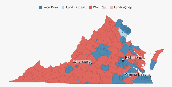 Virginia election results 2018 - The Washington Post