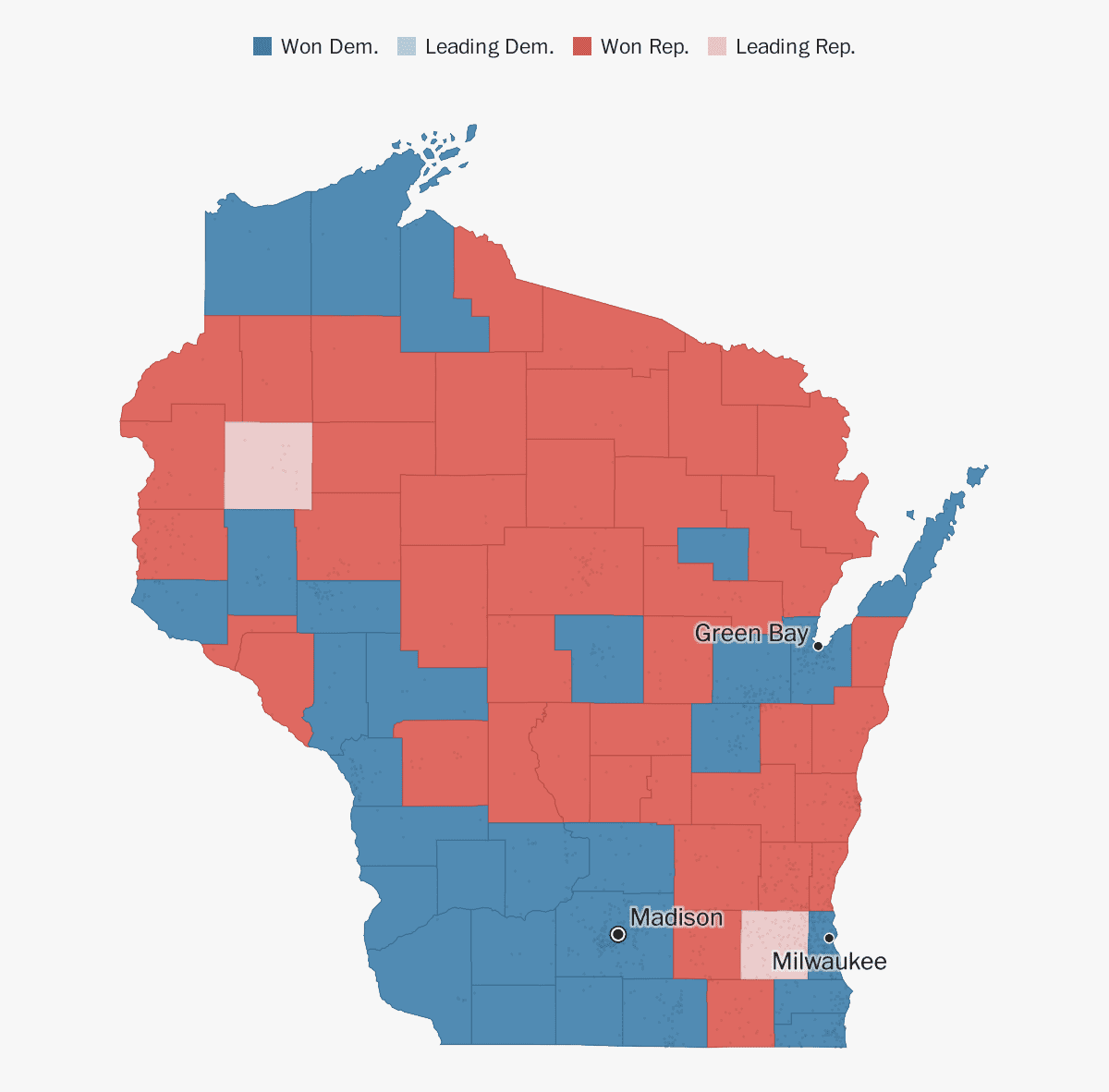 Wisconsin election results 2018 - The Washington Post