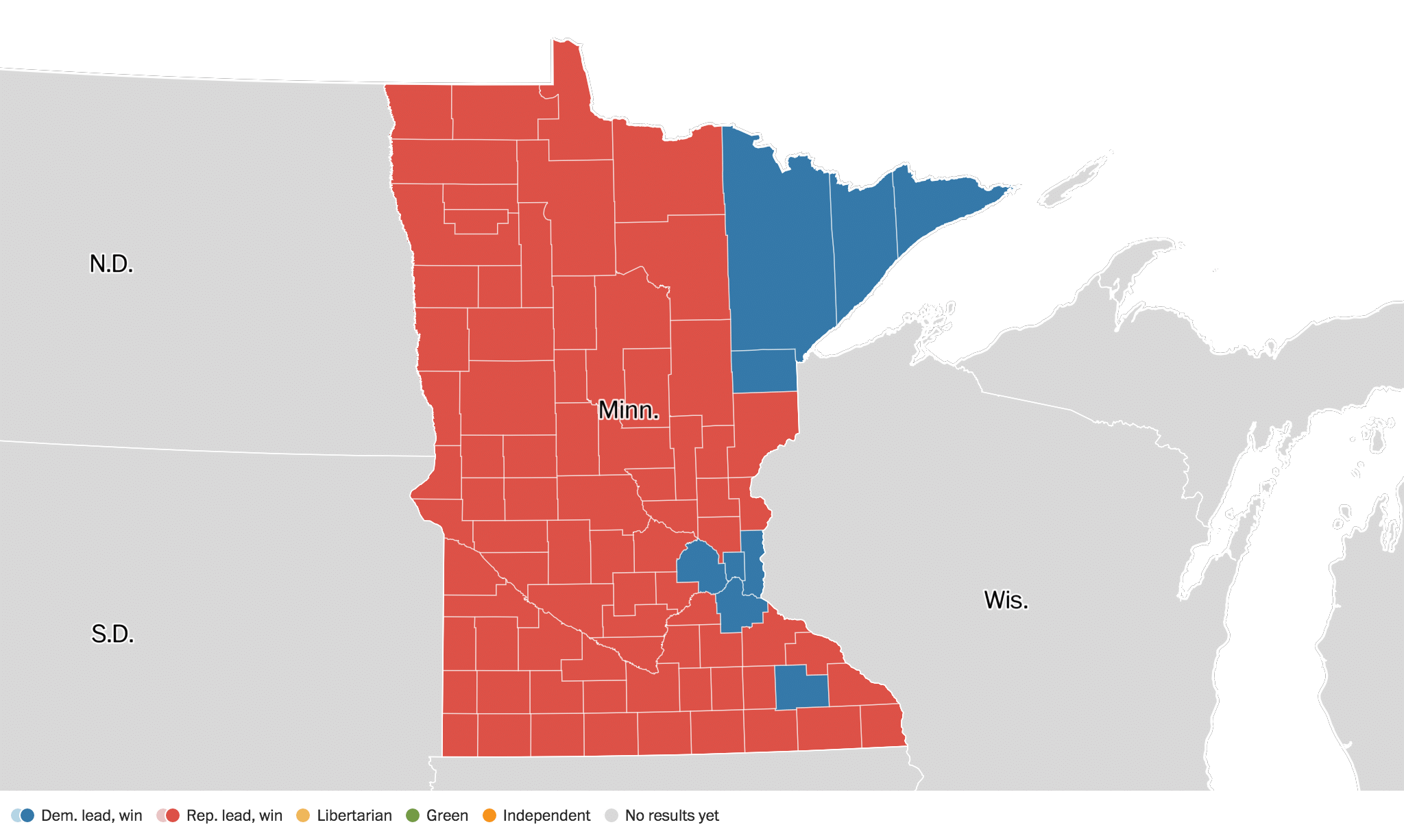 Minnesota Election Results Live Maps Polling Analysis - Us poll live map